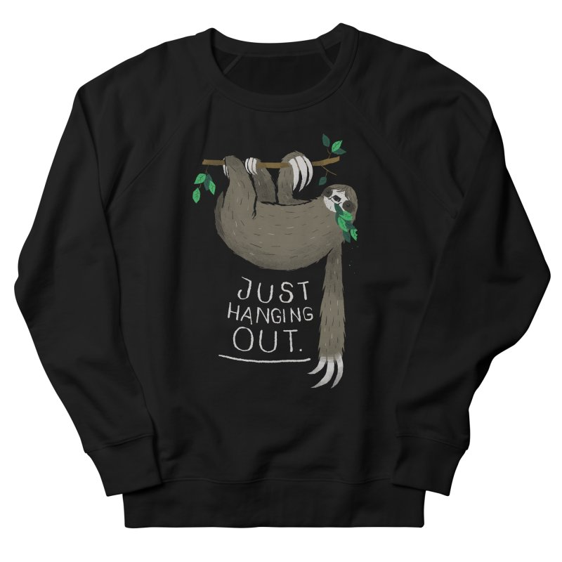 just hanging out Women's French Terry Sweatshirt by louisros's Artist Shop