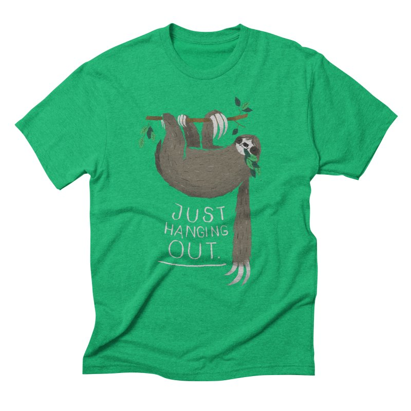 just hanging out Men's Triblend T-shirt by louisros's Artist Shop