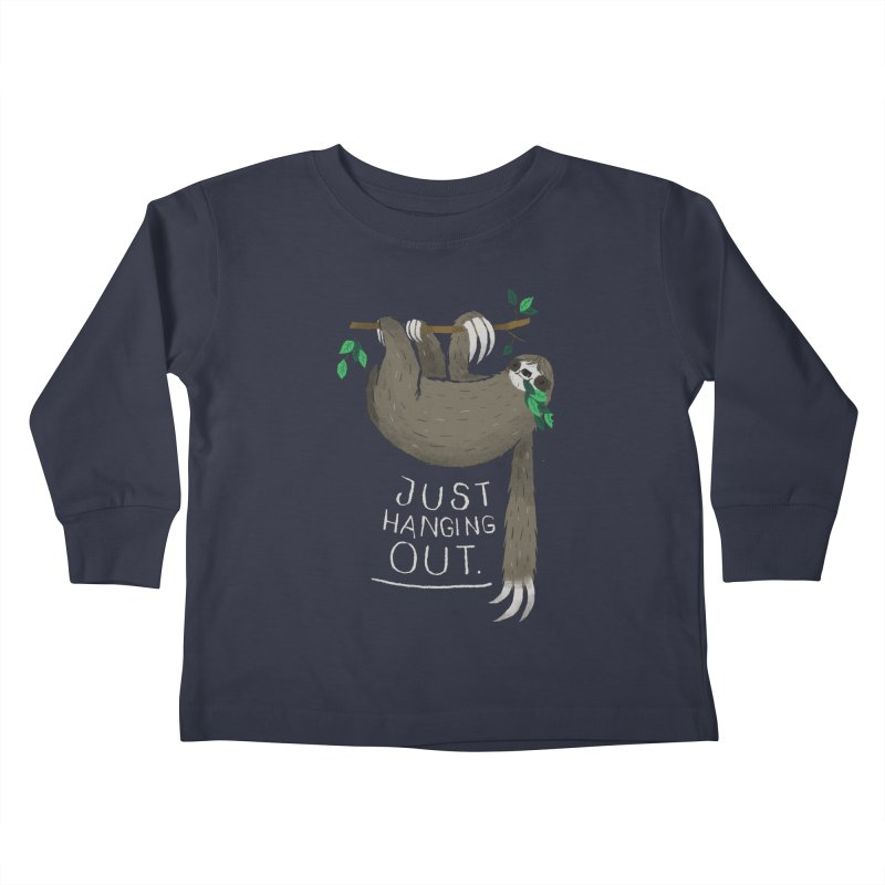 just hanging out Kids Toddler Longsleeve T-Shirt by louisros's Artist Shop