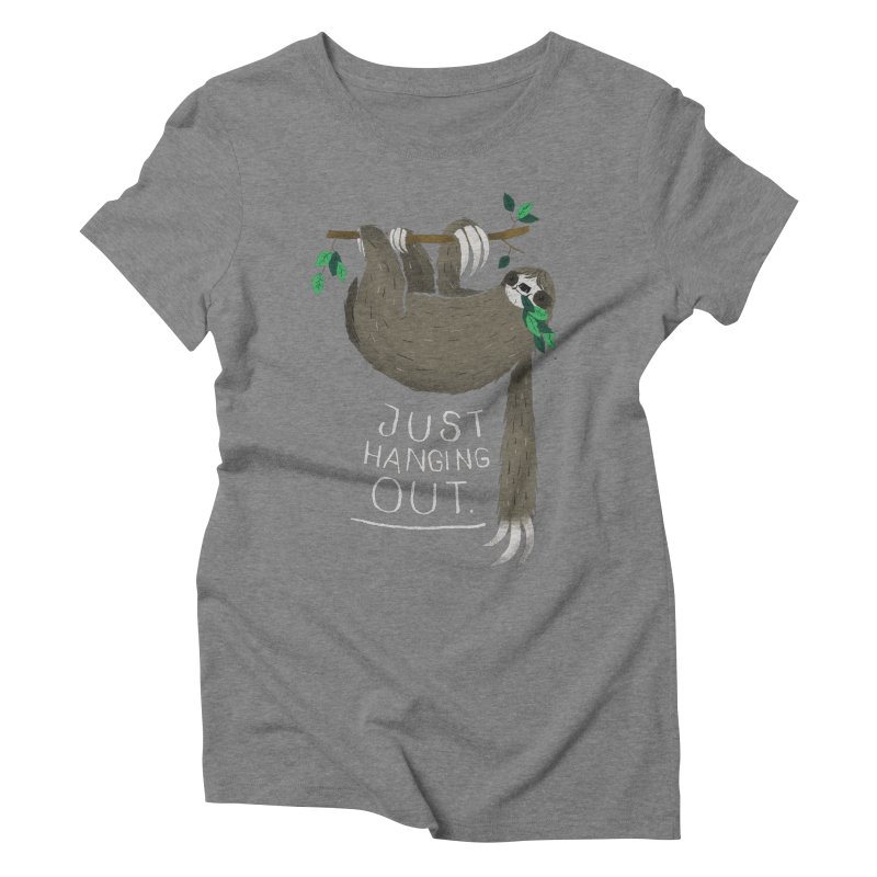 just hanging out Women's Triblend T-shirt by louisros's Artist Shop