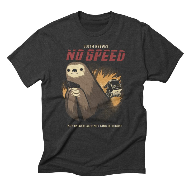 no speed Men's Triblend T-Shirt by louisros's Artist Shop