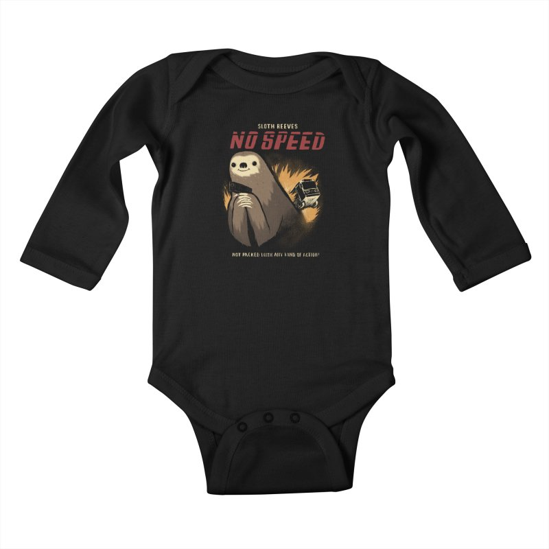 no speed Kids Baby Longsleeve Bodysuit by louisros's Artist Shop