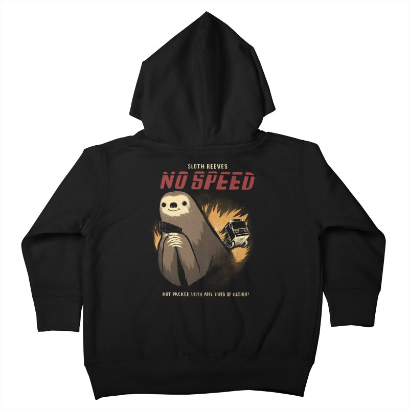 no speed Kids Toddler Zip-Up Hoody by louisros's Artist Shop