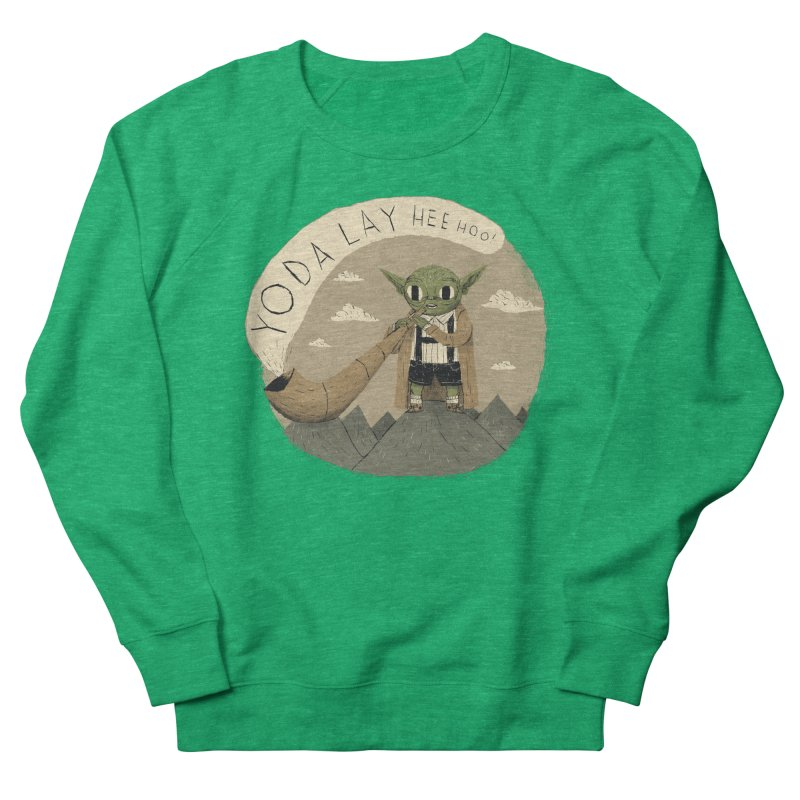 yodaling Women's Sweatshirt by louisros's Artist Shop