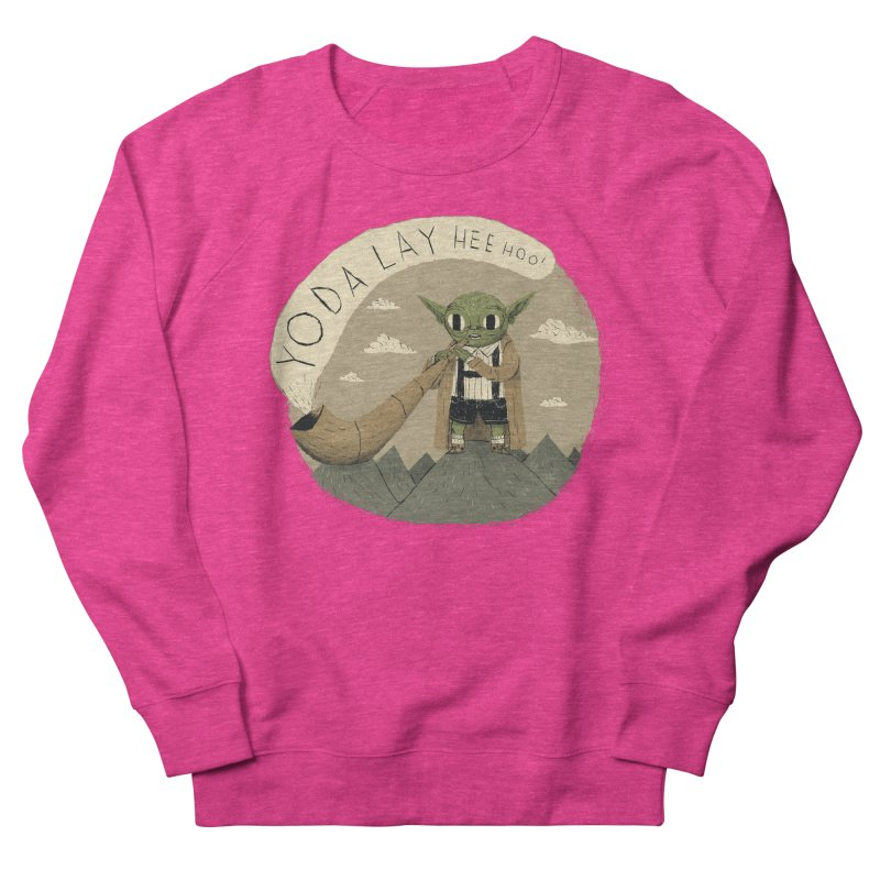 yodaling Women's French Terry Sweatshirt by louisros's Artist Shop