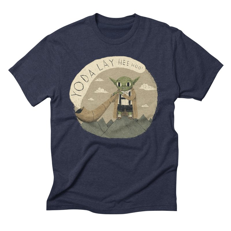 yodaling Men's Triblend T-Shirt by louisros's Artist Shop