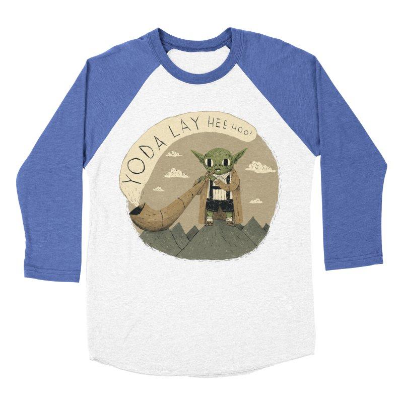 yodaling Men's Baseball Triblend T-Shirt by louisros's Artist Shop