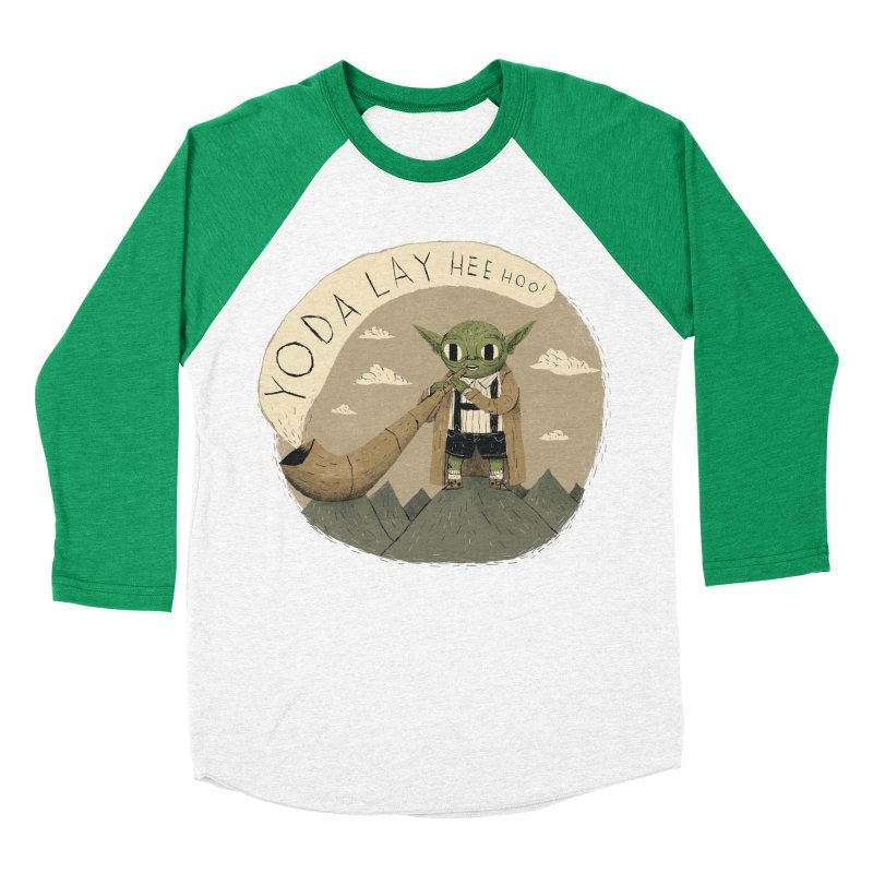 yodaling Men's Baseball Triblend T-Shirt by louisros's Artist Shop