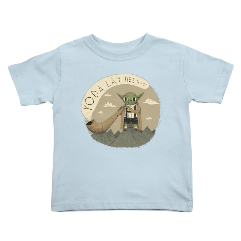 yodaling Kids Toddler T-Shirt by louisros's Artist Shop