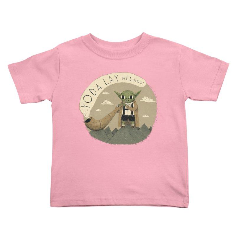 yodaling Kids Toddler T-Shirt by louisros's Artist Shop
