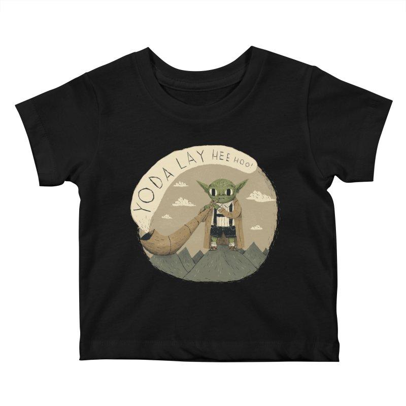 yodaling Kids Baby T-Shirt by louisros's Artist Shop