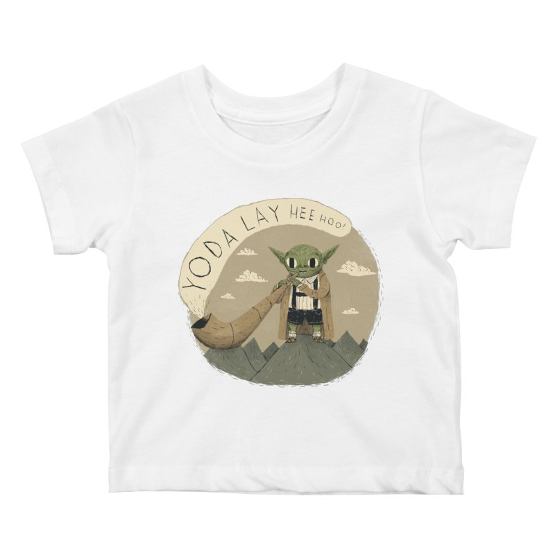 yodaling Kids Baby T-Shirt by louisros's Artist Shop