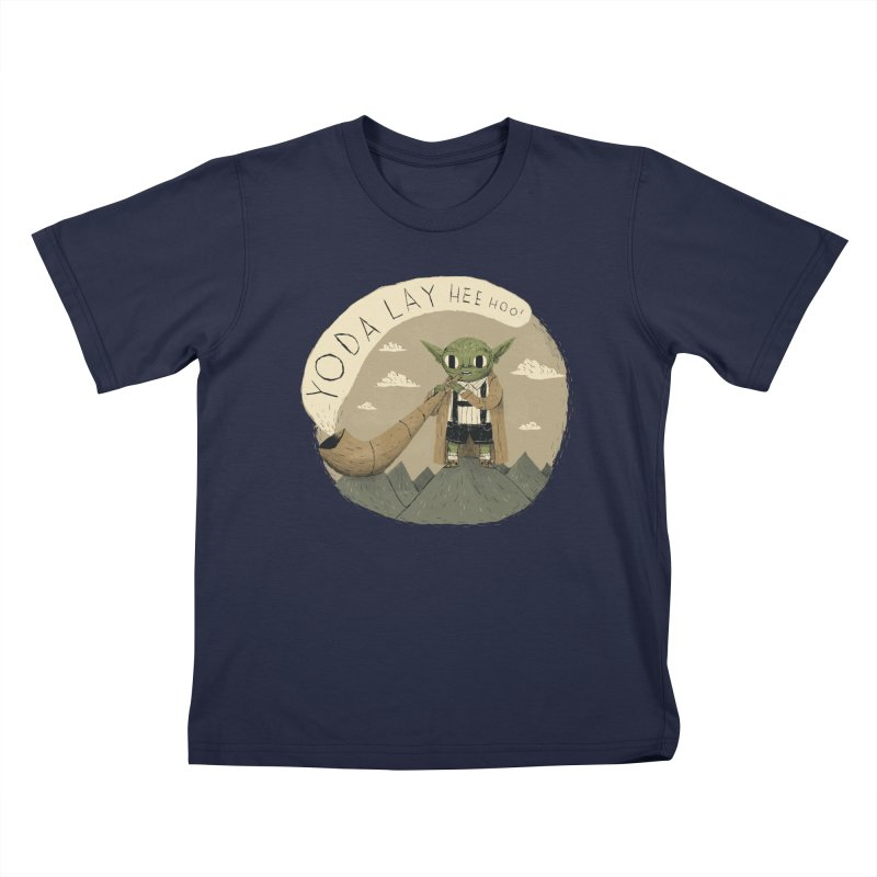yodaling Kids T-Shirt by louisros's Artist Shop