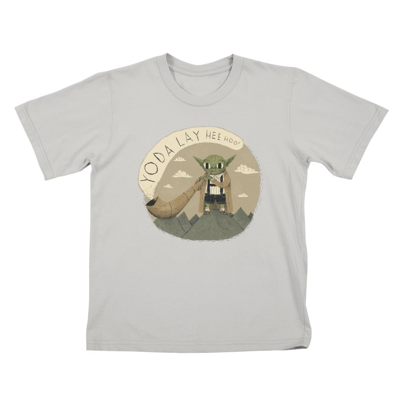 yodaling Kids T-Shirt by louisros's Artist Shop