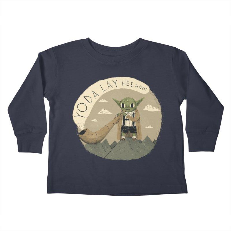 yodaling Kids Toddler Longsleeve T-Shirt by louisros's Artist Shop