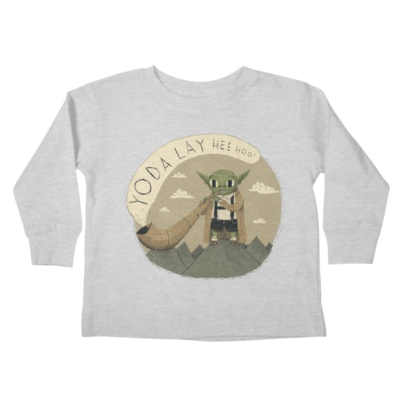 yodaling Kids Toddler Longsleeve T-Shirt by louisros's Artist Shop