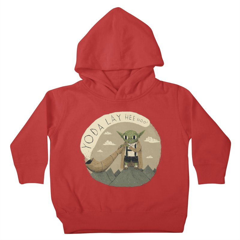 yodaling Kids Toddler Pullover Hoody by louisros's Artist Shop