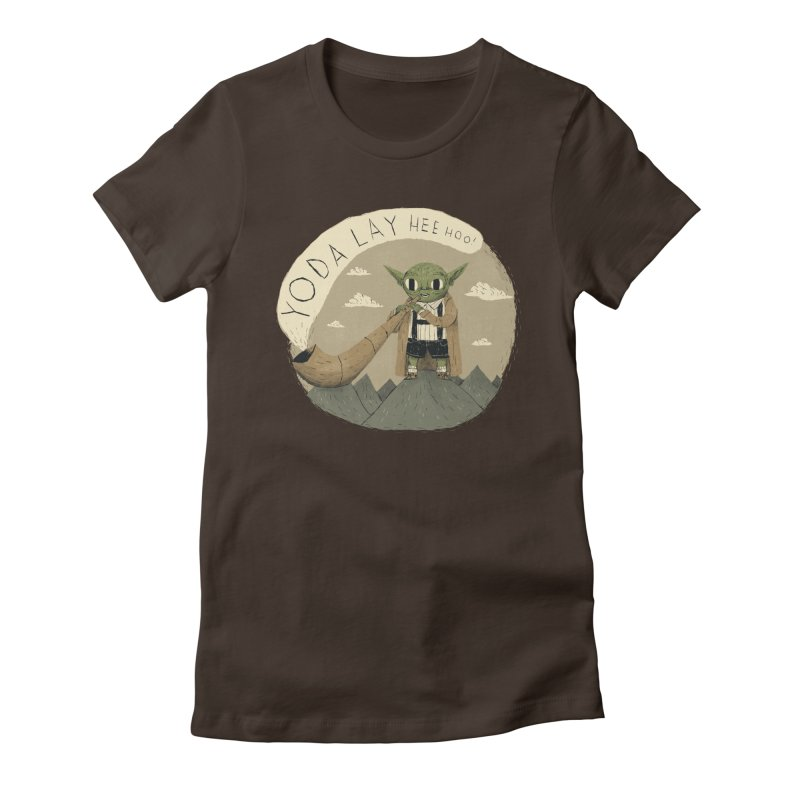 yodaling Women's Fitted T-Shirt by louisros's Artist Shop