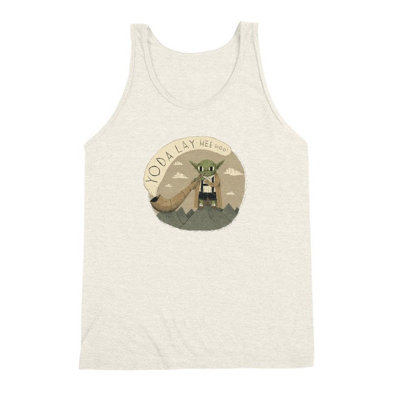 yodaling Men's Triblend Tank by louisros's Artist Shop