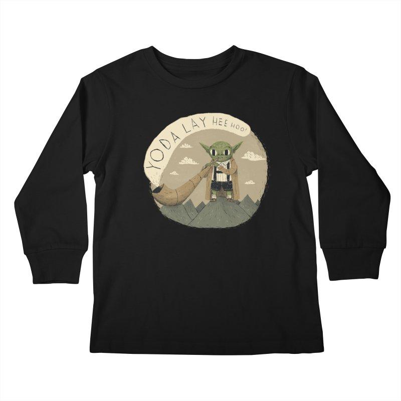 yodaling Kids Longsleeve T-Shirt by louisros's Artist Shop