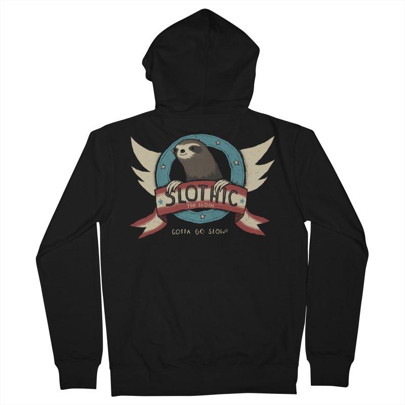 slothic Women's Zip-Up Hoody by louisros's Artist Shop