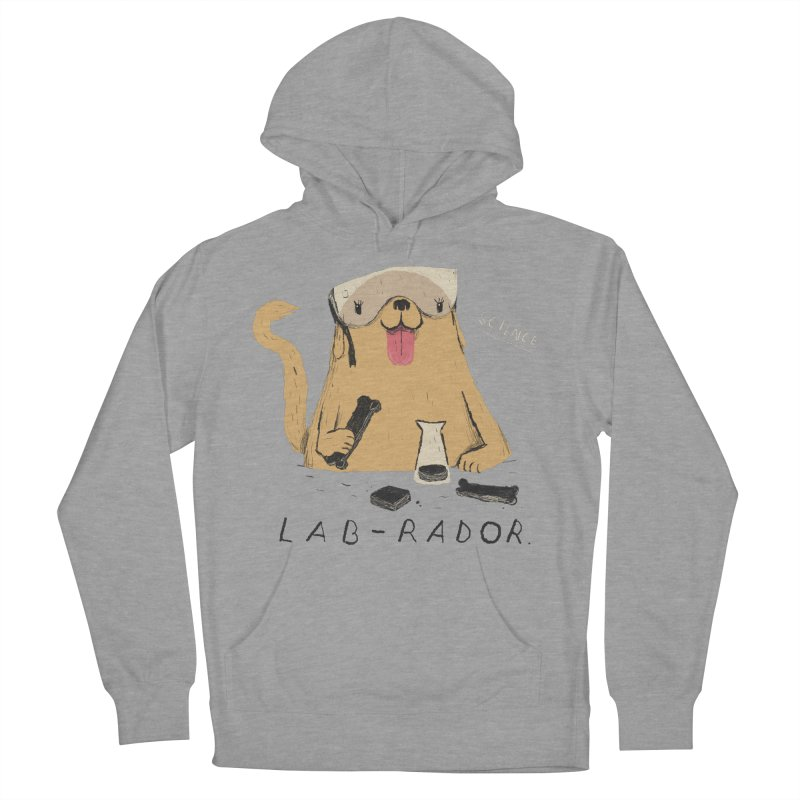 lab-rador Women's French Terry Pullover Hoody by louisros's Artist Shop