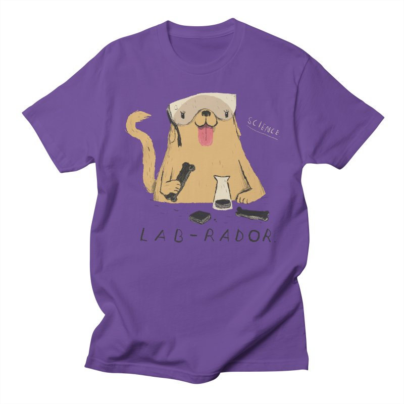 lab-rador Men's T-Shirt by louisros's Artist Shop