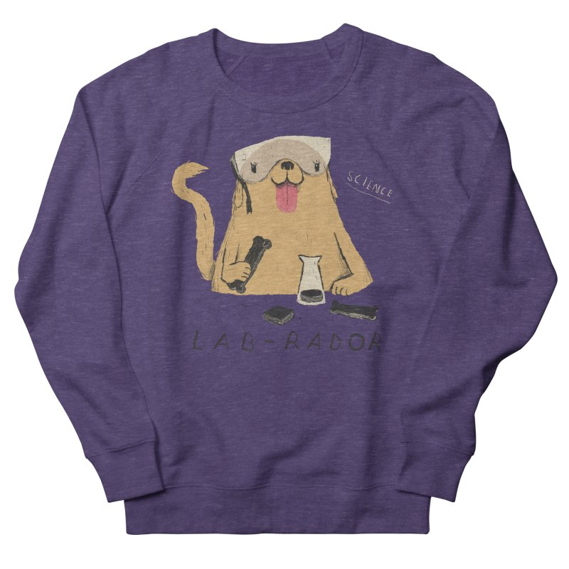lab-rador Women's French Terry Sweatshirt by louisros's Artist Shop