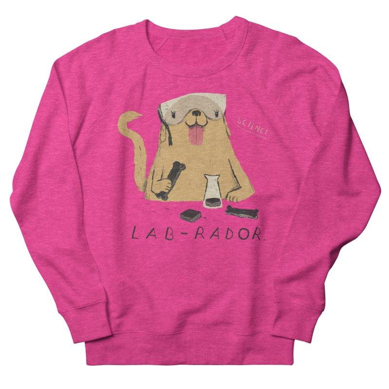 lab-rador Women's French Terry Sweatshirt by louisros's Artist Shop