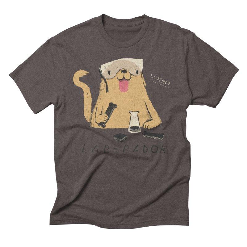 lab-rador Men's Triblend T-Shirt by louisros's Artist Shop