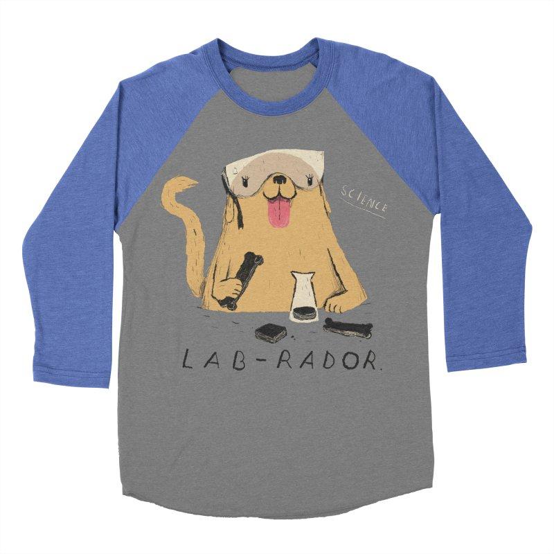 lab-rador Women's Baseball Triblend T-Shirt by louisros's Artist Shop
