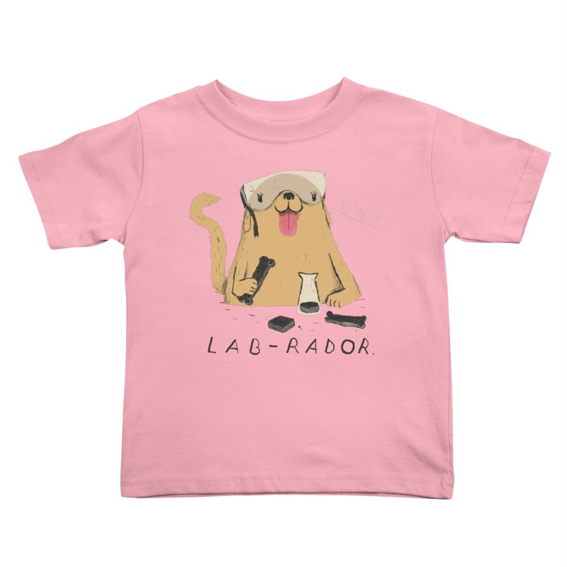 lab-rador Kids Toddler T-Shirt by louisros's Artist Shop