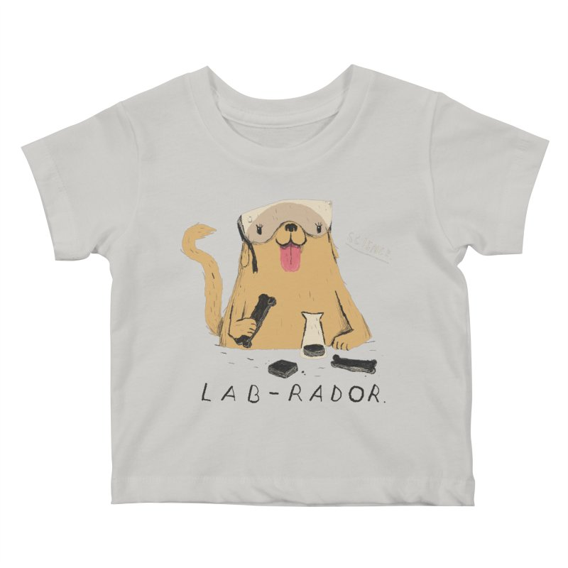 lab-rador Kids Baby T-Shirt by louisros's Artist Shop