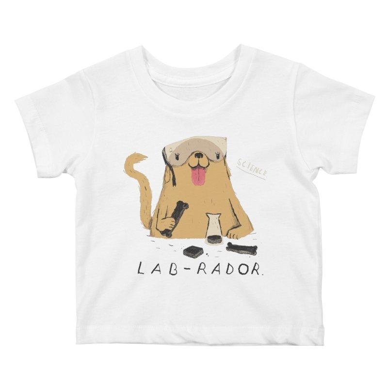lab-rador Kids Baby T-Shirt by louisros's Artist Shop