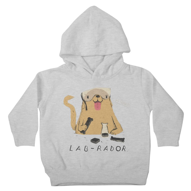 lab-rador Kids Toddler Pullover Hoody by louisros's Artist Shop