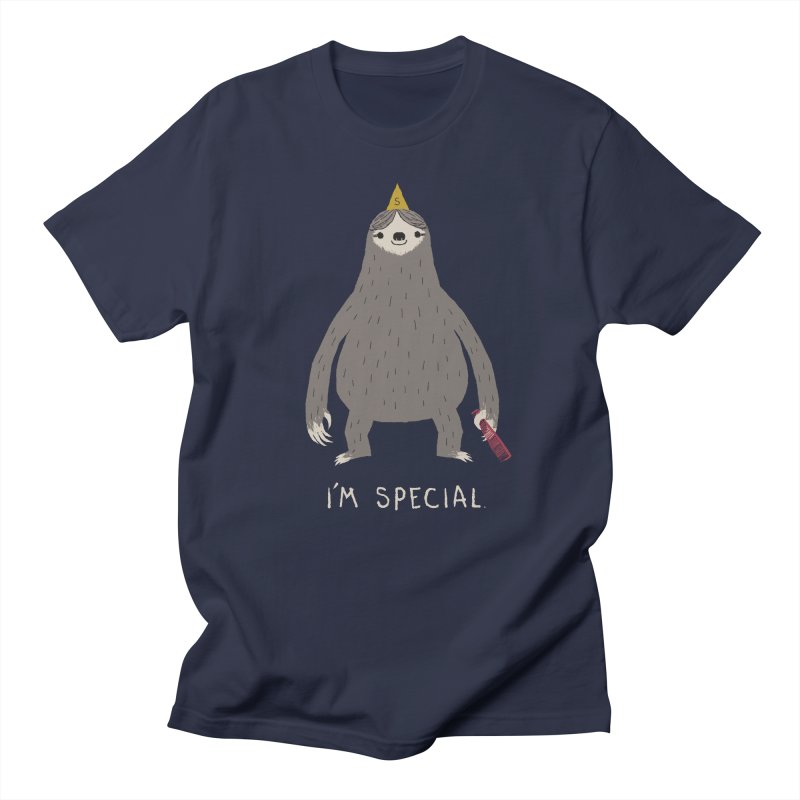 i'm special Men's T-Shirt by louisros's Artist Shop