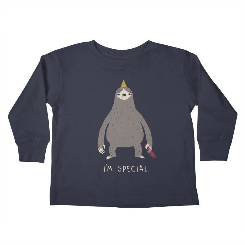 i'm special Kids Toddler Longsleeve T-Shirt by louisros's Artist Shop
