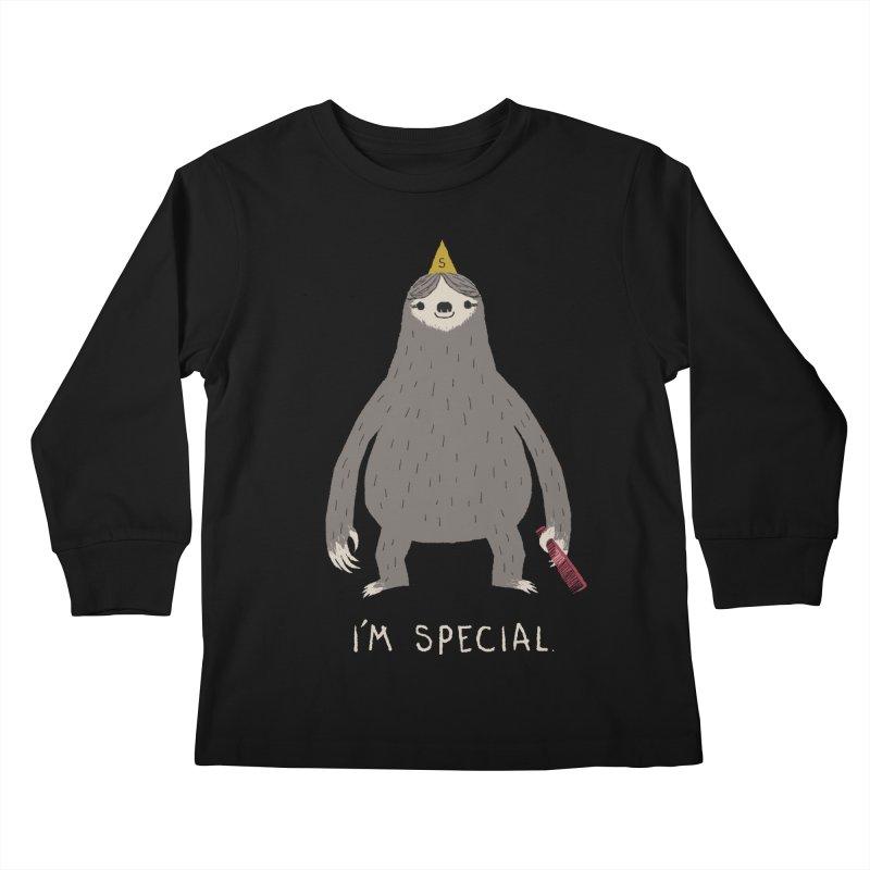 i'm special Kids Longsleeve T-Shirt by louisros's Artist Shop