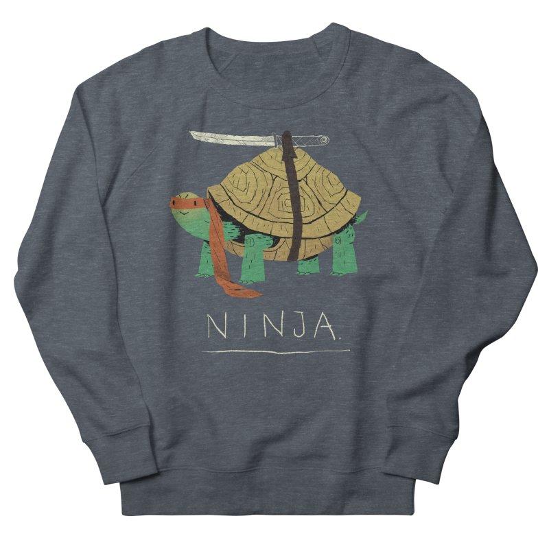 ninja. Women's French Terry Sweatshirt by louisros's Artist Shop