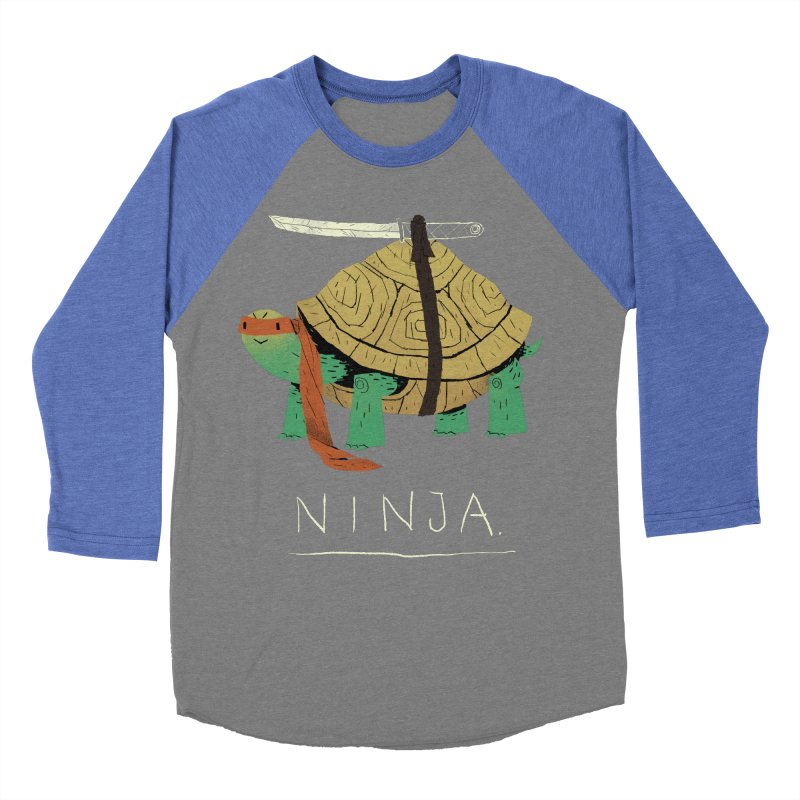 ninja. Men's Baseball Triblend T-Shirt by louisros's Artist Shop