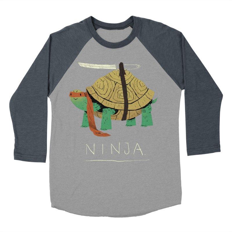 ninja. Men's Baseball Triblend T-Shirt by louisros's Artist Shop