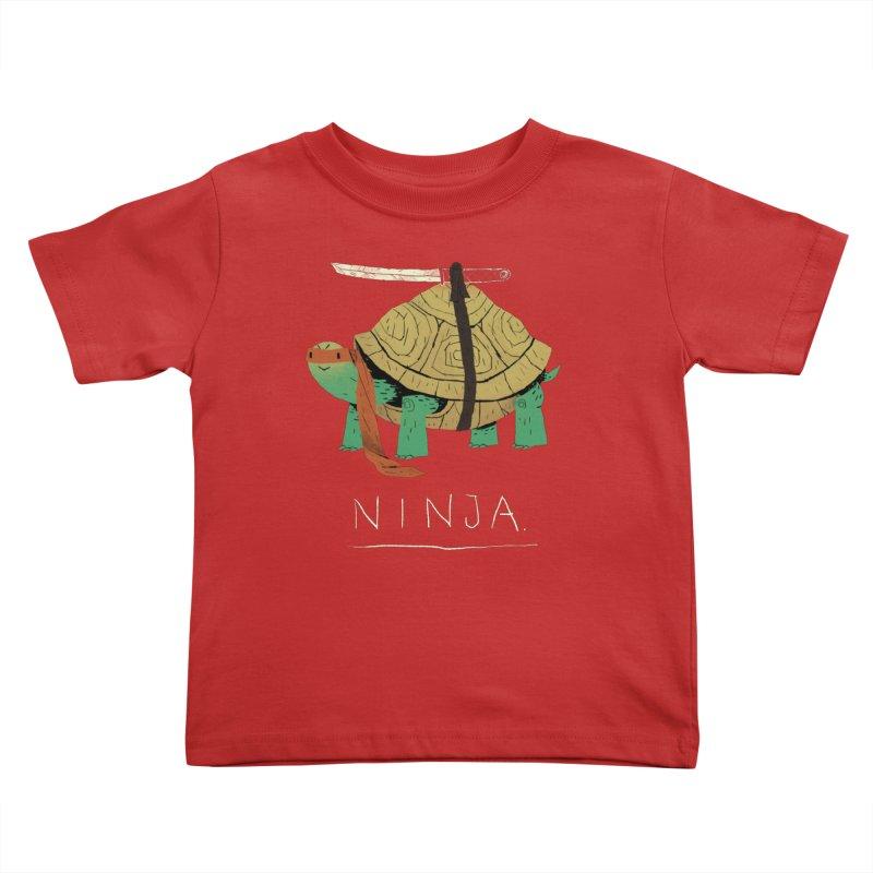 ninja. Kids Toddler T-Shirt by louisros's Artist Shop
