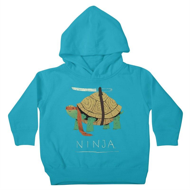 ninja. Kids Toddler Pullover Hoody by louisros's Artist Shop