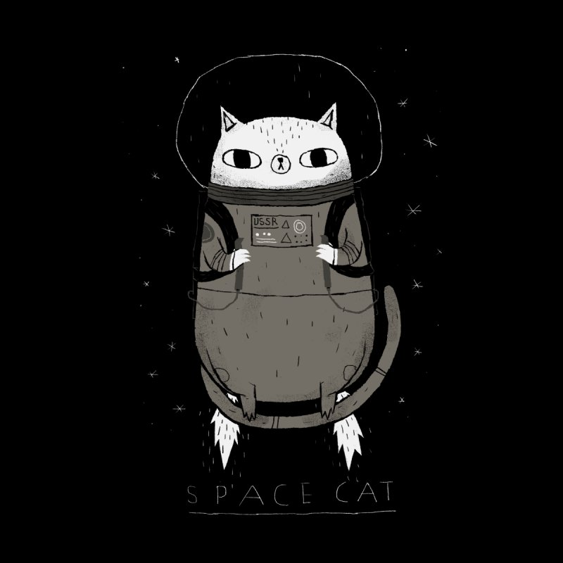 space cat None  by louisros's Artist Shop