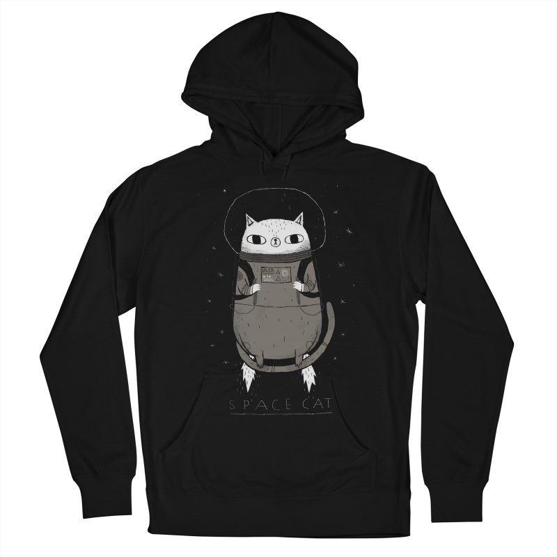 space cat Women's Pullover Hoody by louisros's Artist Shop