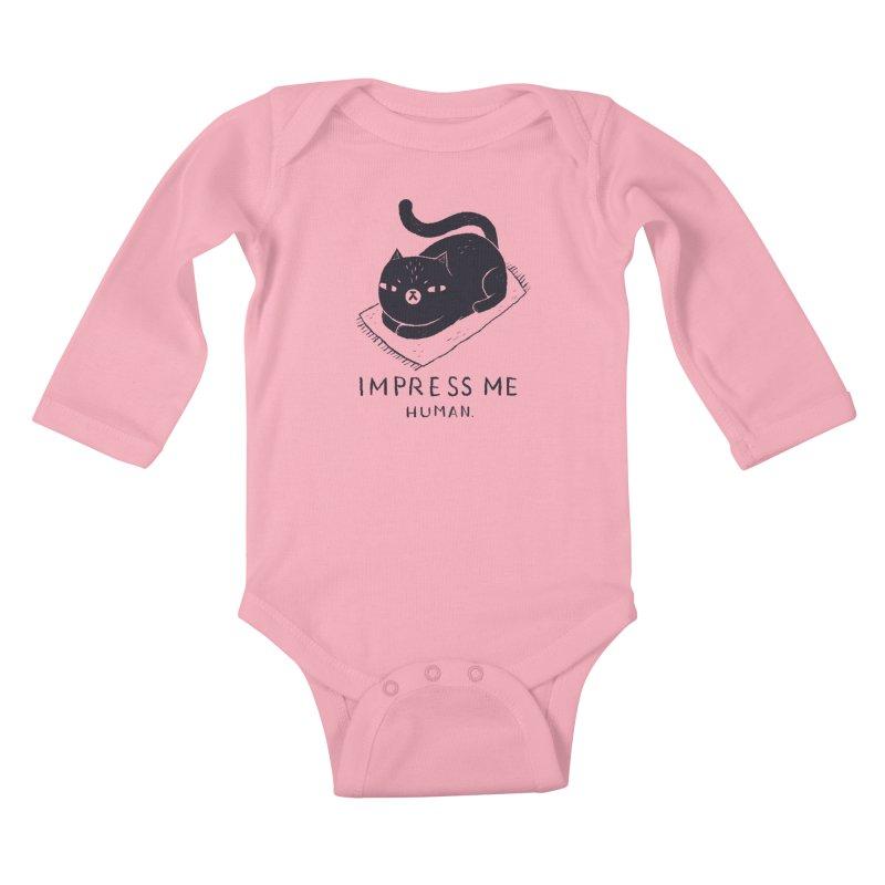 impress me Kids Baby Longsleeve Bodysuit by louisros's Artist Shop