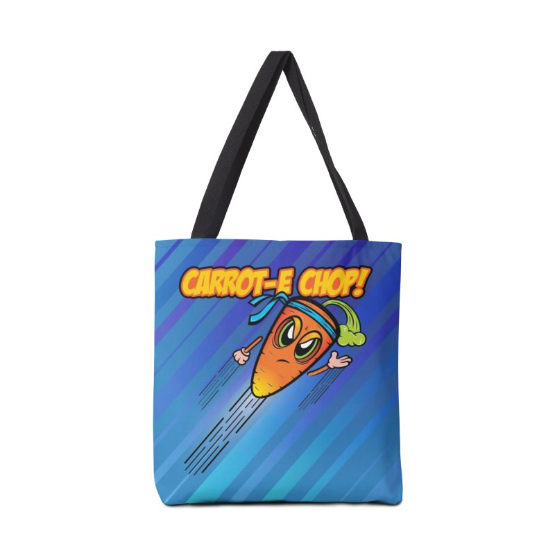 Carrot-e-CHOP! Accessories Bag by Samalou - The Art and Illustrations of Lou Simeone