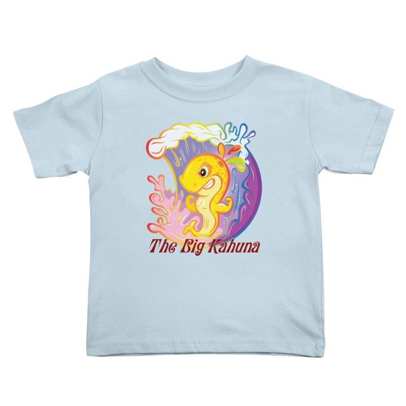 The Big Kahuna Kids Toddler T-Shirt by Lou Simeone Art