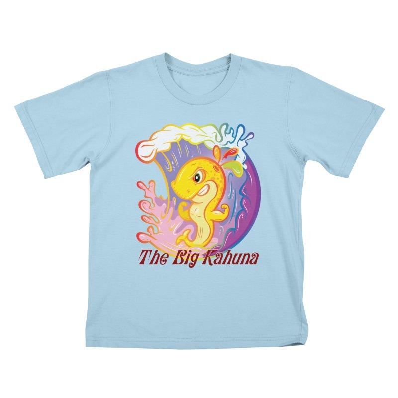 The Big Kahuna Kids T-Shirt by Lou Simeone Art