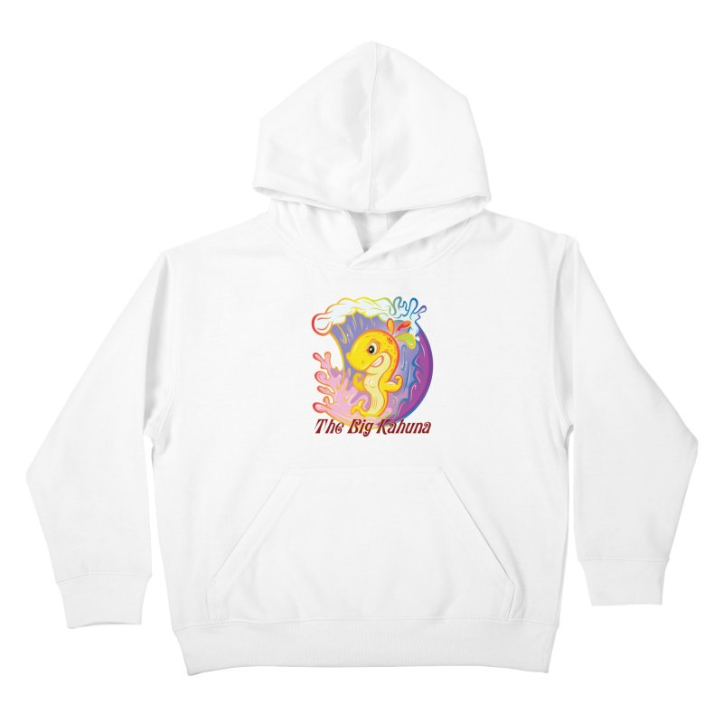 The Big Kahuna Kids Pullover Hoody by Samalou - The Art and Illustrations of Lou Simeone